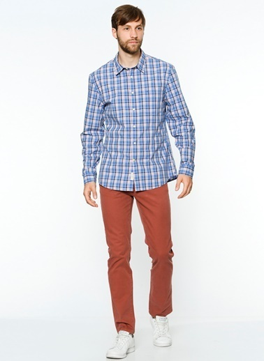Dockers Pantolon | Slim Bordo